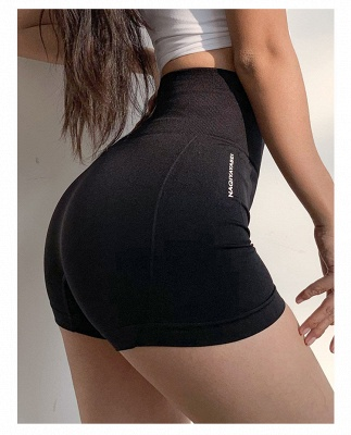 Women High Waist Sports Elastic Fitness Short Yoga Pants | Lady Overall Full Tights Yoga Cloth_4