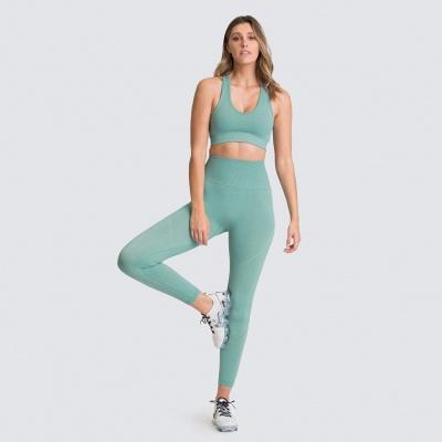 Women Tracksuits Bra Thong Suits Sport Running Vest Underwear Suits_13