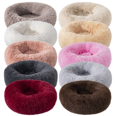 Ultra Soft Washable Dog and Cat Cushion Bed | Comfortable Round  Cuddler Dog Bed_67