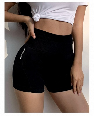 Women High Waist Sports Elastic Fitness Short Yoga Pants | Lady Overall Full Tights Yoga Cloth_3