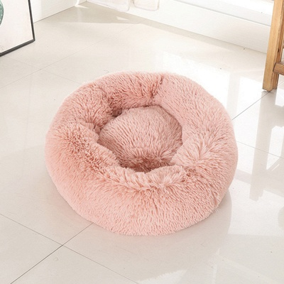 Ultra Soft Washable Dog and Cat Cushion Bed | Comfortable Round  Cuddler Dog Bed_35