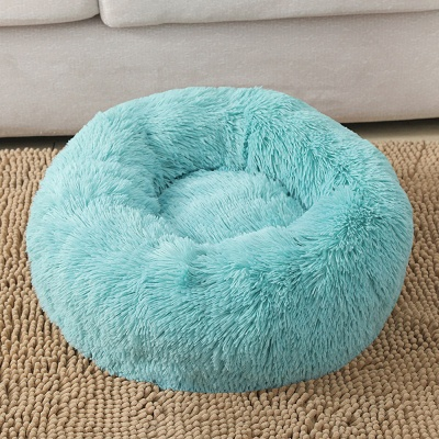 Ultra Soft Washable Dog and Cat Cushion Bed | Comfortable Round  Cuddler Dog Bed_8
