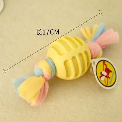 New Pet Cotton Rope Molar And Clean Teeth Toy Dog Plush Teeth Toys_3