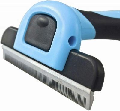 Grooming Brush For Dog & Cat Deshedding Rake Comb Hair Fur Remover_6