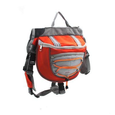 Cotton Canvas Dog Saddle Backpack for Medium & Large Dog_1