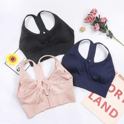 Women  Fitness Gym Running Yoga Sport Suit |  Bra Vest Cropped Sportswear_4