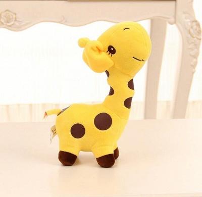 Animal Dear doll Baby Kid Child Christmas Birthday Happy Colorful Gifts 18cm Unisex Cute Gift Plush Giraffe Soft Toy_7