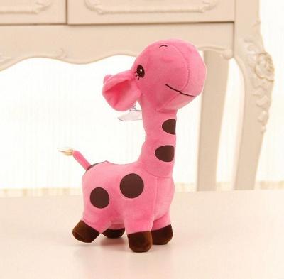 Animal Dear doll Baby Kid Child Christmas Birthday Happy Colorful Gifts 18cm Unisex Cute Gift Plush Giraffe Soft Toy_4