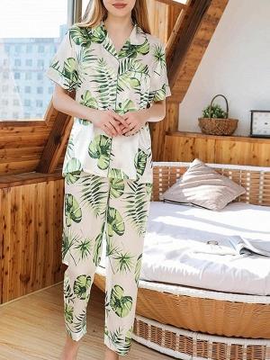 Women's Sexy Sleepwear Household Suit_4