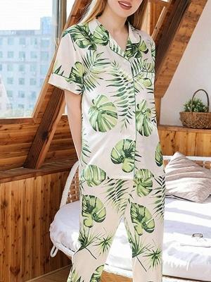 Women's Sexy Sleepwear Household Suit_5
