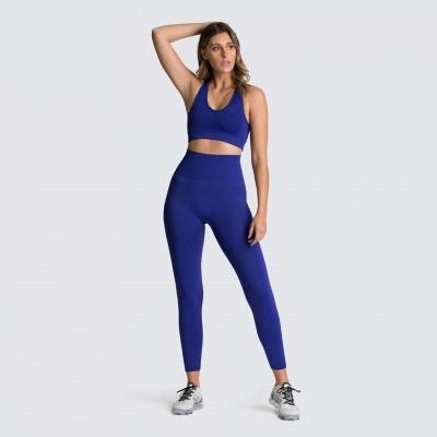 Women Tracksuits Bra Thong Suits Sport Running Vest Underwear Suits_4