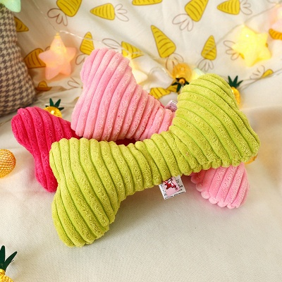 Cute Pet Plush Dog Toys Sound Pet Plush Chew Interactive Toy | Pet Supplies For Puppy Toys Plush strip dog toy_4