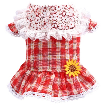 Puppy Clothes Cute Summer Pet Dress_5