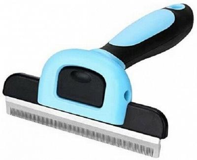 Grooming Brush For Dog & Cat Deshedding Rake Comb Hair Fur Remover_2