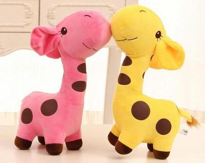 Animal Dear doll Baby Kid Child Christmas Birthday Happy Colorful Gifts 18cm Unisex Cute Gift Plush Giraffe Soft Toy_5