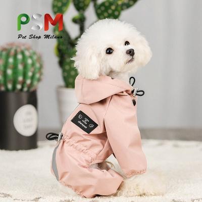 Cute Pink Summer Outdoor Puppy Pet Ruffwear Accessories Dog Rain Coat_1