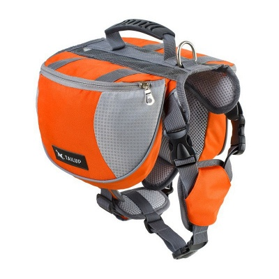 Dog Harness Bag Pack Travel Hiking Backpack for Medium & Large Dogs_2