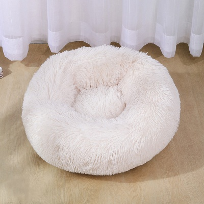 Ultra Soft Washable Dog and Cat Cushion Bed | Comfortable Round  Cuddler Dog Bed_30