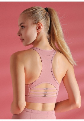 Sexy Backless Breathable Sports Bra Yoga Crop Top Vest | Women Fitness Clothing Athletic Gym Underwear_5