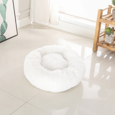 Ultra Soft Washable Dog and Cat Cushion Bed | Comfortable Round  Cuddler Dog Bed_3