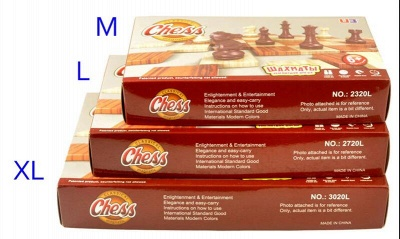 International Chess Checkers Folding Grain Board Chess Game_7