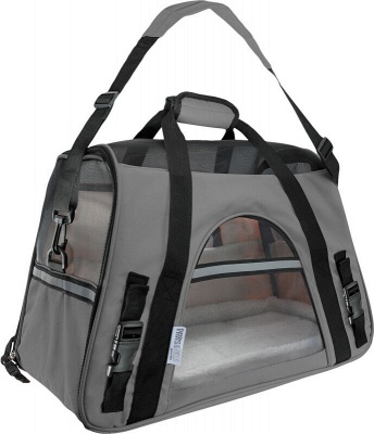 Pet Carrier Soft Sided Puppy Kitten Cat Dog Tote Bag Travel Airline Approved_10