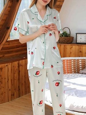 Women's Sexy Sleepwear Household Suit_1