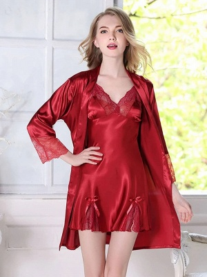 Women's Fashion Nighty Home Clothes_3