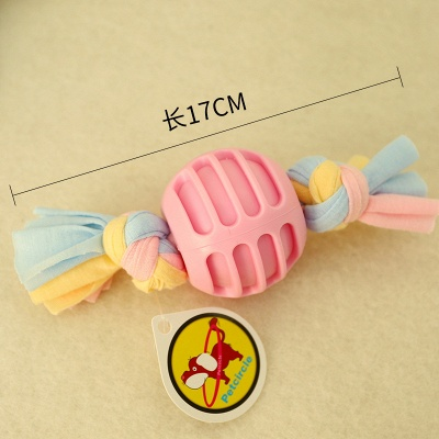 New Pet Cotton Rope Molar And Clean Teeth Toy Dog Plush Teeth Toys_2