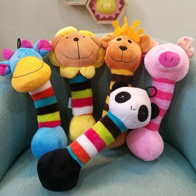 Panda Cartoon Plush Vocal Dog Toys_1