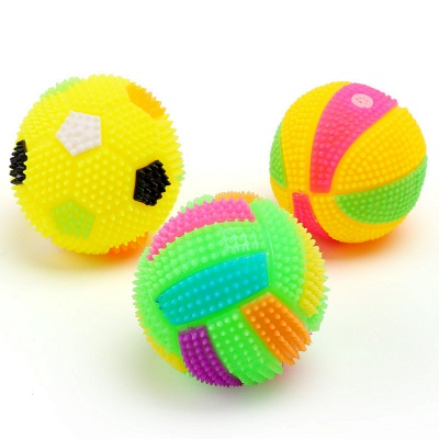 Dog Chew Toy for Dog Tooth Clean Ball Of Food Extra-tough Rubber Ball|Funny Interactive Elasticity  Pet Dog Toys Ball_2