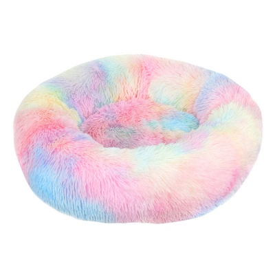 Ultra Soft Washable Dog and Cat Cushion Bed | Comfortable Round  Cuddler Dog Bed_6