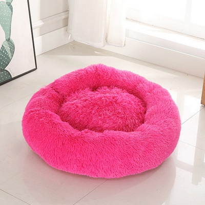 Ultra Soft Washable Dog and Cat Cushion Bed | Comfortable Round  Cuddler Dog Bed_25