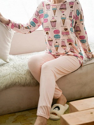 Women's Sleepwear Sets Comfortable Soft Pajamas