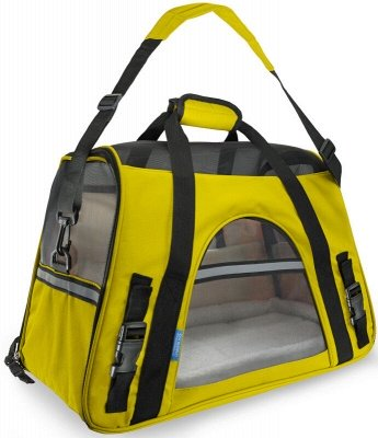 Pet Carrier Soft Sided Puppy Kitten Cat Dog Tote Bag Travel Airline Approved_3