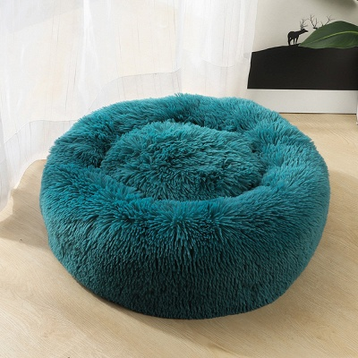 Ultra Soft Washable Dog and Cat Cushion Bed | Comfortable Round  Cuddler Dog Bed_44