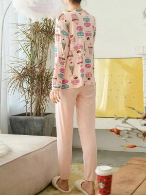 Women's Sleepwear Sets Comfortable Soft Pajamas_2