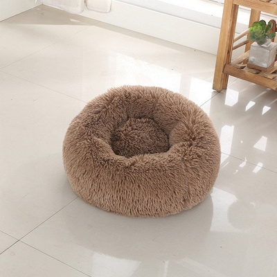 Ultra Soft Washable Dog and Cat Cushion Bed | Comfortable Round  Cuddler Dog Bed_22