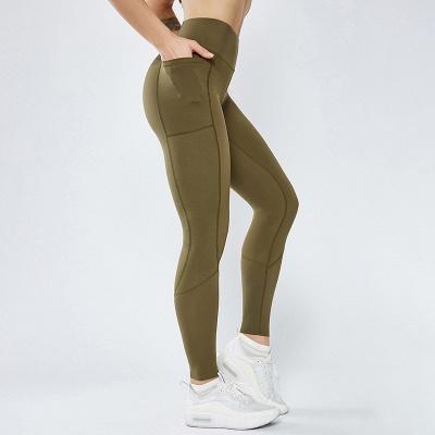 Women Girls High Waist Sports Gym Wear Leggings Yoga Pants | Elastic Fitness Overall Full Tights Workout_3
