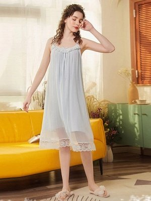 Women's Sexy Dressing Gown Nightgowns for Ladies_2