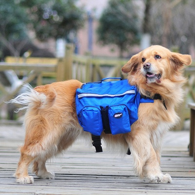 Hound Dog Backpack Harness Travel Packs for Hiking Walking Camping_1