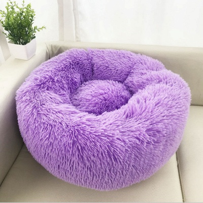 Ultra Soft Washable Dog and Cat Cushion Bed | Comfortable Round  Cuddler Dog Bed_50
