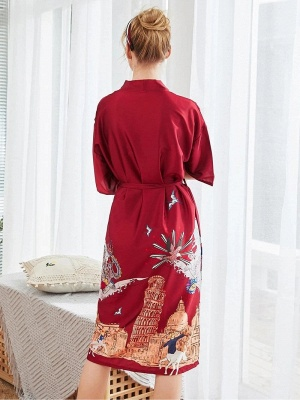 Sexy Morning Dressing Gown for Women_2
