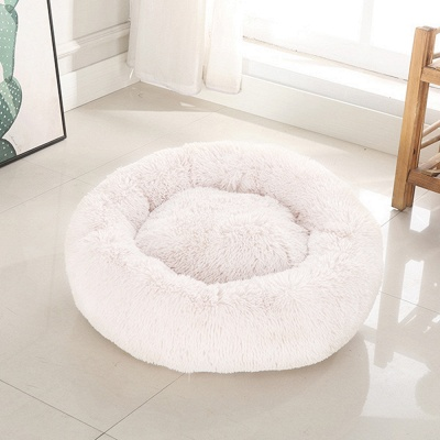Ultra Soft Washable Dog and Cat Cushion Bed | Comfortable Round  Cuddler Dog Bed_31