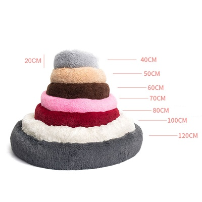 Ultra Soft Washable Dog and Cat Cushion Bed | Comfortable Round  Cuddler Dog Bed_52