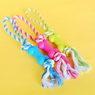 Puppy Pet  Plush Chews Toys_2