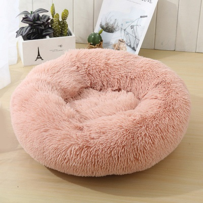Ultra Soft Washable Dog and Cat Cushion Bed | Comfortable Round  Cuddler Dog Bed_38