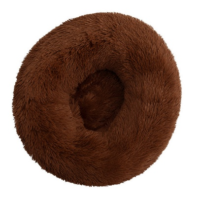 Ultra Soft Washable Dog and Cat Cushion Bed | Comfortable Round  Cuddler Dog Bed_19