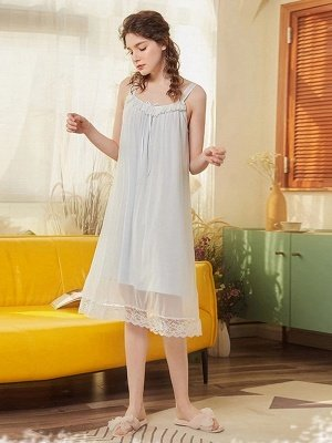 Women's Sexy Dressing Gown Nightgowns for Ladies_1