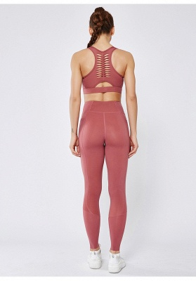 Women Girls High Waist Sports Gym Wear Leggings Yoga Pants | Elastic Fitness Overall Full Tights Workout_8